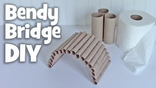 getlinkyoutube.com-DIY Bendy Bridge by Hammy Time