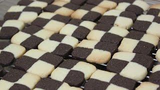 getlinkyoutube.com-체크쿠키 / checkerboard cookies / 체스쿠키 / 베이킹 / baking : 하레