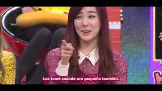 getlinkyoutube.com-[130212] Tiffany y Hyoyeon Obsesiones? [Sub Español]