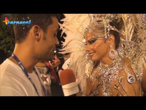 Carnaval 2013: Viviane Araujo, rainha de bateria do Salgueiro, fala sobre fama e reconhecimento