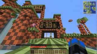getlinkyoutube.com-Minecraft: Sonic the Hedgehog race map