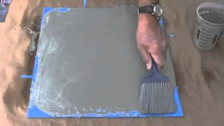getlinkyoutube.com-How to make concrete floors look like wood