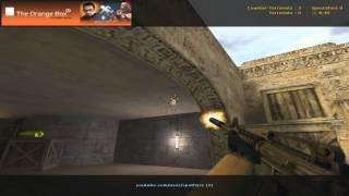 getlinkyoutube.com-Counter-Strike: Spam spots (wallbangs) de_dust2