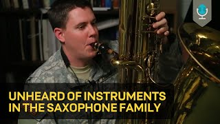 getlinkyoutube.com-Unheard of Instruments in the Saxophone Family