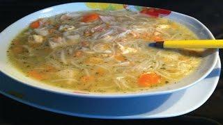 getlinkyoutube.com-شوربة فواكه البحر التي لا تقاوم  soupe  facile aux fruits de mer