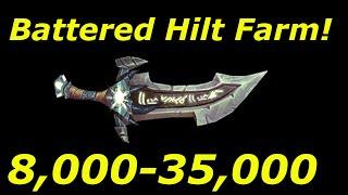 "WoW 6.2.3: 8,000-35,000 Gold ""Battered Hilt"" Farm! WoD Gold Farming Guides"