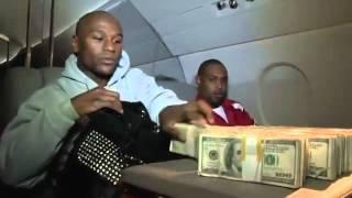 getlinkyoutube.com-Floyd Mayweather contando sus millones de dolares en su jet private