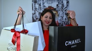 getlinkyoutube.com-مشترياتي ديور ،لوي فيتو ،شانيل Haul,Dior,Burberry