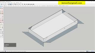 getlinkyoutube.com-Make tool path for aluminium box, artcam tutorial.