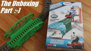 getlinkyoutube.com-Thomas & Friends Trackmaster: Unboxing Ice & Snow Expansion Pack