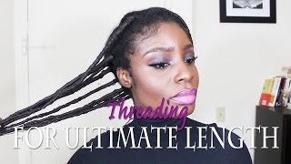Threading 4C Hair for Ultimate Length (Part 1)