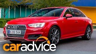 getlinkyoutube.com-2016 Audi A4 Review : 2.0 TFSI Quattro