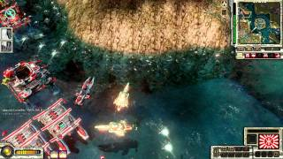 getlinkyoutube.com-CNC red alert 3 online with mates war 1