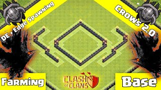 getlinkyoutube.com-Clash Of Clans: New Update TH9 Dark Elixir Farming/Hybrid Base - Crows 2.0 + Replays