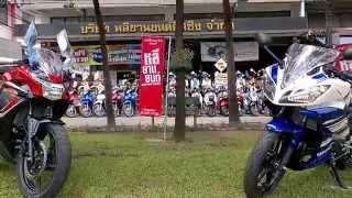 getlinkyoutube.com-Yamaha R15 vs Honda CBR150!!