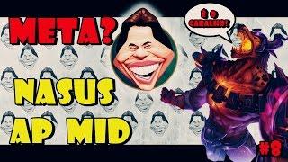 getlinkyoutube.com-META É O CARALHO! #8 - NASUS AP MID - NEGO ATÉ QUITA