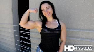 Muscle Powerhouse Chloe Sannito at HDPhysiques