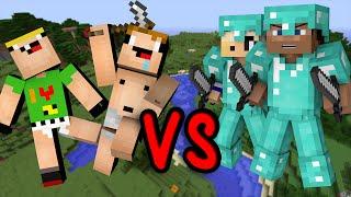 getlinkyoutube.com-Pros vs. Noobs - Minecraft