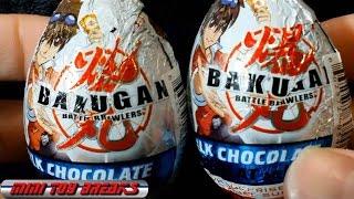 getlinkyoutube.com-Bakugan Battle Brawlers - Chocolate Surprise Egg Unboxing X2