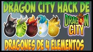 getlinkyoutube.com-Dragón City: Como Sacar A Todos Los Dragones De 4 Elementos 2016