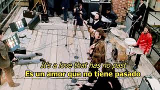 Don't let me down - The Beatles (LYRICS/LETRA) [Original]