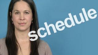 getlinkyoutube.com-How to Pronounce 'Schedule' -- American English