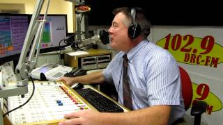 getlinkyoutube.com-Ron Sedaille - 102.9 WDRC FM - VIDEO AIRCHECK November 16, 2013