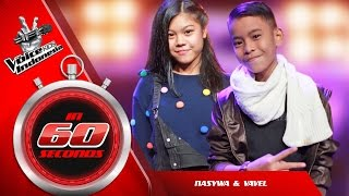 Nasywa dan Vavel | The Blind Auditions | The Voice Kids Indonesia GlobalTV 2016