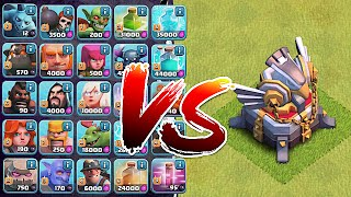 getlinkyoutube.com-Clash Of Clans - ALL TROOPS IN THE GAME Vs. TH11!! | Noahs Ark Attack! | (Troll Attack vs. TH11)