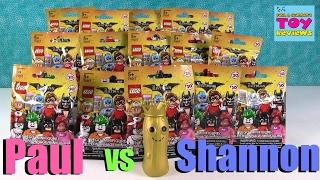 getlinkyoutube.com-Paul vs Shannon Challenge Lego Batman Movie Edition Opening | PSToyReviews