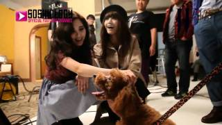 getlinkyoutube.com-[SSGSubs]120124 Yoona & Seohyun with Kai's Dog