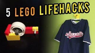 getlinkyoutube.com-5 Useful LEGO Lifehacks