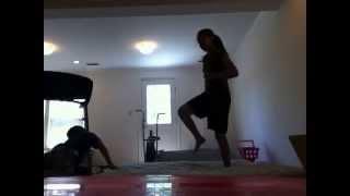 getlinkyoutube.com-Me and my brother wrestling!