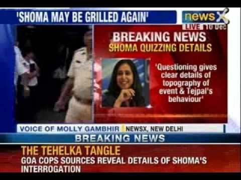 Goa police to quiz Tehelka's Shoma Chaudhury, take victim's statement - NewsX