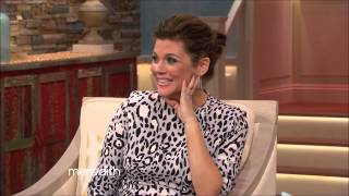 getlinkyoutube.com-Tiffani Thiessen The Meredith Vieira Show 2015 04 10