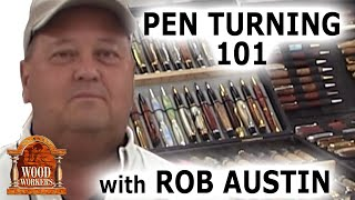 getlinkyoutube.com-Pen Turning 101 with Rob Austin