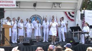 getlinkyoutube.com-The U.S.Navy Sea Chanters in Alexandria VA August 31 2014