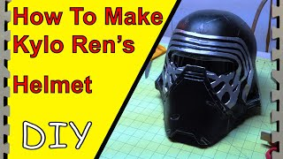 getlinkyoutube.com-How to Make Kylo Ren's Helmet/Mask (Tutorial)