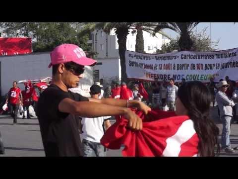 14 janvier 2013. La Tunisie. Тунис, Tunisia - Тунис 2013