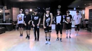 BTS 'N.O' mirrored Dance Practice