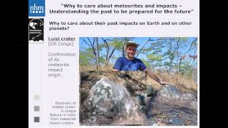 Why to care about meteorites and impacts | Ludovic Ferrière | TEDxVienna