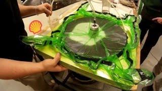 getlinkyoutube.com-Making of carbon fiber rim