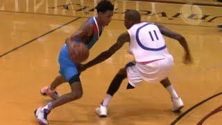"getlinkyoutube.com-Dejounte ""Baby Boy"" Murray FULL HIGHLIGHTS Seattle Pro Am 2014"