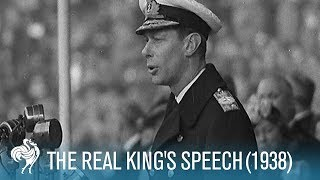 getlinkyoutube.com-The Real King's Speech (George VI Stutter)