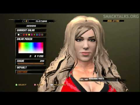 WWE '12 Kaitlyn CAW Formula by RAIDA NGP