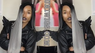 getlinkyoutube.com-Uniwigs Sweety Futura Synthetic Lace Front Wig Review