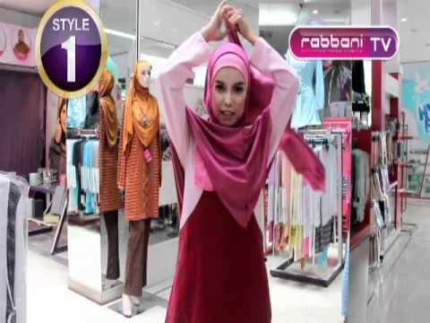 highspeed to wear hijab less than 2 second by rabbani