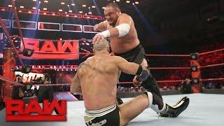 getlinkyoutube.com-Cesaro vs. Samoa Joe: Raw, Feb. 27, 2017
