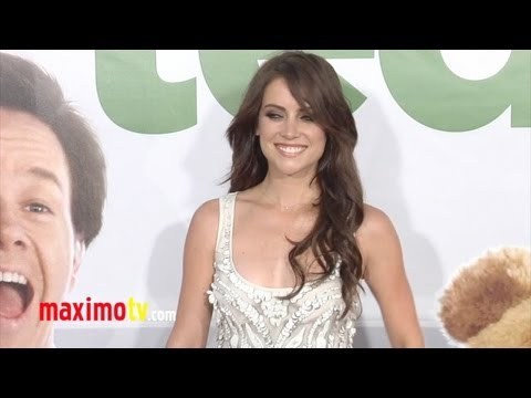 Jessica Stroup at TED Premiere ARRIVALS - Maximo TV Red Carpet Video