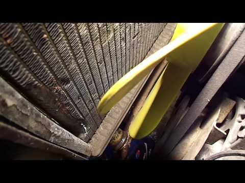 Расположение радиатора печки у ИЖ 2715